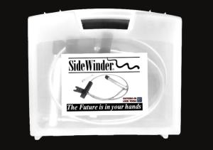 Clear plastic tool case for SideWinder Locksmiths Tool